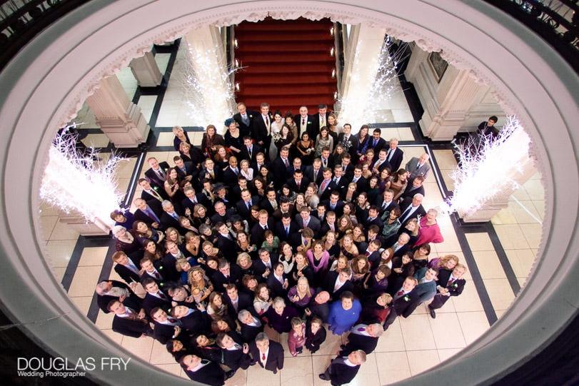 Wedding Photographer One Great George Street London - looking down
