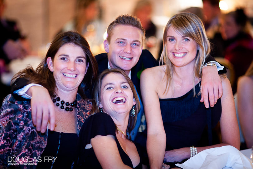 Wedding Photographer One Great George Street London - group of guests