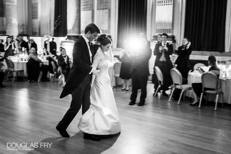 Wedding Photographer One Great George Street London - photograph of dancing