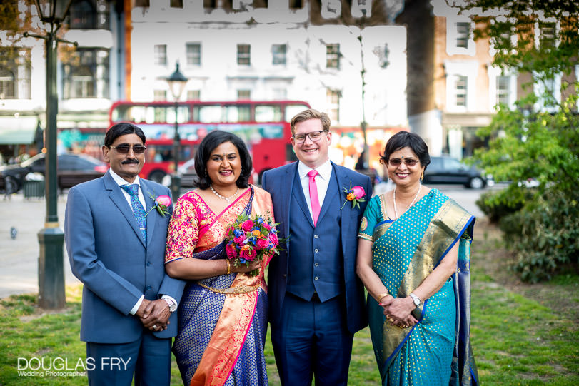 Micro wedding in London with Covid-19 restrictions