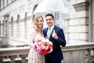 Wedding photograph at Somerset House in London