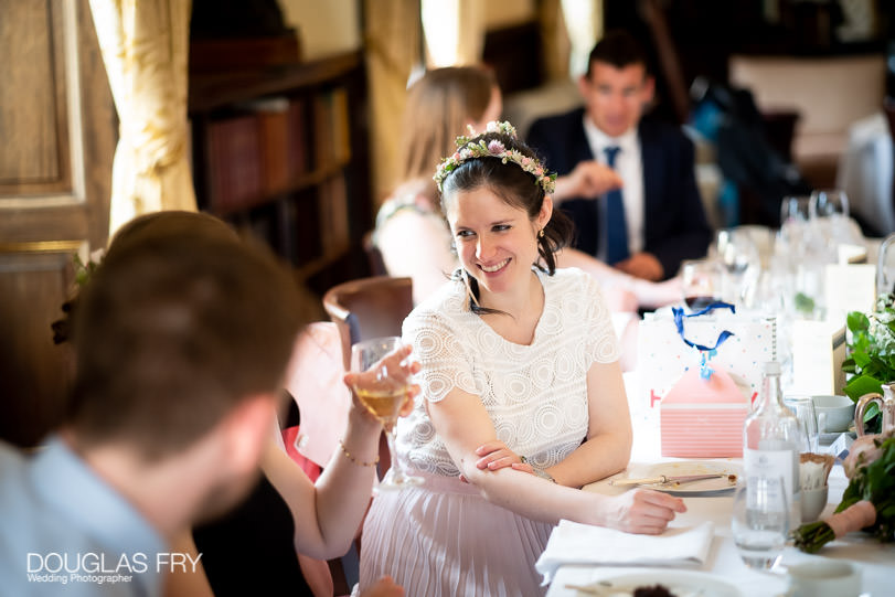 The Athenaeum Club Wedding photography of reception