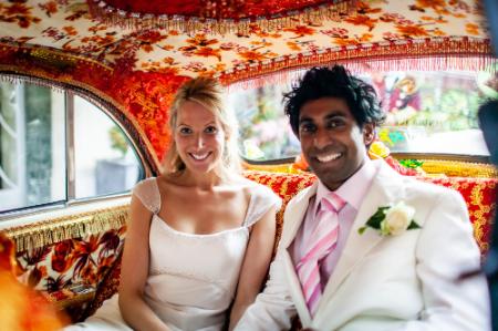 Wedding photographer at Claridge's Hotel