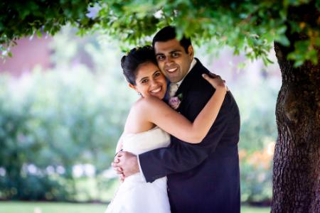 Wedding photographer at Grove Hotel