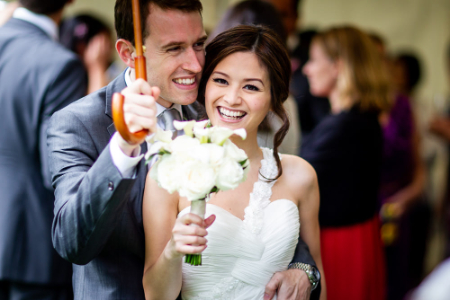 Wedding photographer at The Royal Institute of British Architects