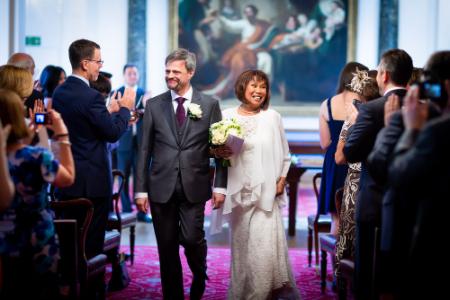 Wedding photographer at Stationers Hall